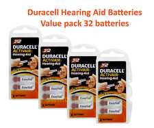 32 pcs Duracell Hearing Aid Batteries Size 312 NEW Super Fresh expire 2019