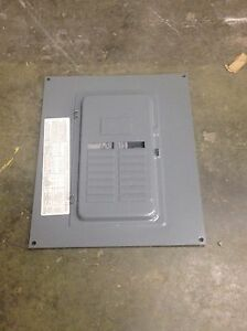 Square DLoad Center CoverQOC16US with door   #7078
