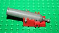 Lego Pirates cannon socle Rouge ref: 2527 / 6285-6243-6276-6274-6271-10040-6277