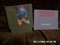 Tetris w/ Instruction Manual Book (Nintendo NES Game)