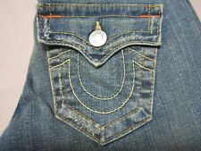 TRUE RELIGION VINTAGE JOEY WOMENS FLARE LEG SLIM BOOTCUT FIT JEANS SIZE 26 NEW