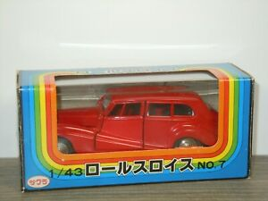 Rolls Royce Silver Wraith - Sakura 7 Japan 1:43 in Box *43034