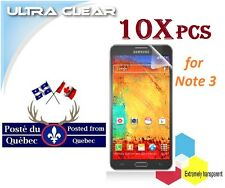 10X Protecteur Ecran ULTRA clair Samsung Galaxy Note 3 Clear Screen Protector ,