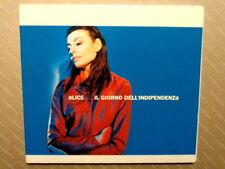 ALICE  -  IL GIORNO DELL'INDIPENDENZA  -  CD  2000  IN OTTIMO STATO / INUSATO