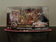 Power Rangers Megaforce Mini Battle Figures, 6 Figures and 1 Scanner Card, 2013