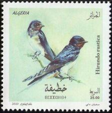 ALGERIA 2020 - FAUNA BIRDS OISEAUX HIRONDELLES HIRONDELLE SWALLOW SWALLOWS - MNH