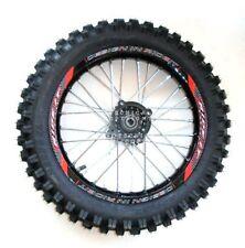 """Cerchio cross pit bike 14"""" posteriore in alluminio con pneumatico UNILLI  nitro"""