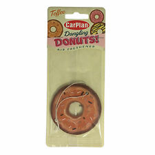 Carplan Donut Car Air Freshener Freshner Fragrance Scent - Toffee