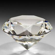 1Stk. Kristall Glas Diamant Kristallglas Deko Glasdiamant Hochzeit Tischdeko