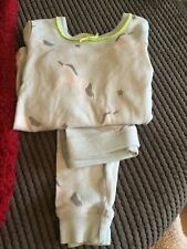 M&S Marks and Spencer age 3-4 years little girl thermal pyjamas unicorns