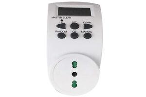 Presa temporizzata digitale elettrica programmabile presa bipasso con timer