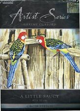 Birds  Rosellas     A little Saucy   Cross kit Kit   new