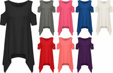 Viscose Short Sleeve Machine Washable Solid T-Shirts for Women