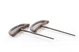 Paar Pauschen für Turnpferd Pferd Sprungbock Pauschenpferd Sportgerät  Griffe
