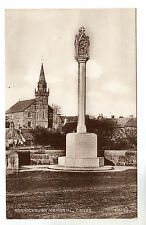 Bannockburn Memorial - Ceres Photo Postcard c1920 / Cupar