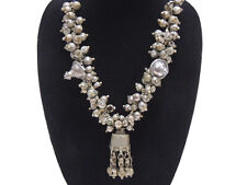 Ethnic Tribal Belly Dance Necklace – Beautiful Vintage Handmade India Jewelry