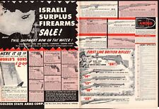 1958 ISRAELI SURPLUS Firearms Carbine Sniper Rifle British Golden State Arms AD