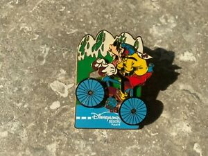 DISNEY DLRP GOOFY CYCLING TOUR DE FRANCE PIN YELLOW JERSEY SLIDER 100TH YEAR