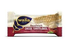 24 Riegel Wasa Sandwich Käse Tomate Basilikum a 37g / Roggen Knäckebrot Riegel