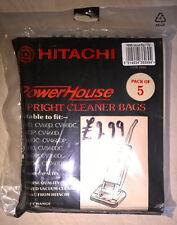 Genuine New HITACHI Sacchetti Per Aspirapolvere PB8M PB8MS