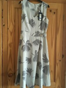 M&S COLLECTION GREY DRESS SIZE 8 BNWT
