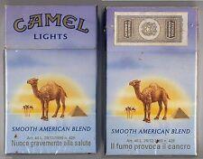 CAMEL LIGHTS cigarette Italy empty box '90 - Il fumo provoca il... - good cond