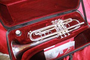 Trompette BESSON London série 1000 avec étui et embouchure 7C