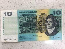 Australian Johnston/Fraser  $10 Note