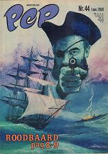 PEP 1969 nr. 44 - JACKIE STEWART / ROODBAARD (COVER) / FLORIS (TV-SERIE)