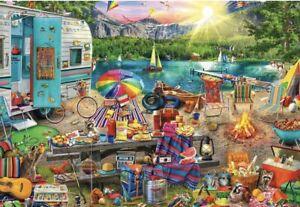 Buffalo Games Aimee Stewart Family Campsite - 2000 Piece Jigsaw Puzzle