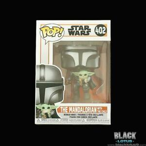 Funko Pop! Star Wars The Mandalorian with Child Flying Jetpack IN STOCK Pop 402