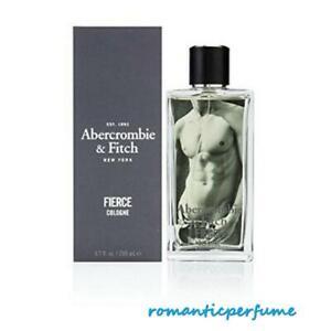FIERCE by Abercrombie & Fitch 6.7 oz / 6.8 oz ( 200 ml ) Cologne SPRAY MEN NIB