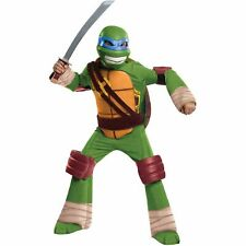 Teenage Mutant Ninja Turtles Leonardo Child Halloween Costume Large 10-12 NEW