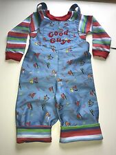 Chucky Good Guy Doll Infant Toddler Costume 12 18 24 36 Months