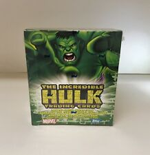The Incredible Hulk Trading Cards - Sealed Trading Card Hobby Box - Topps 2003