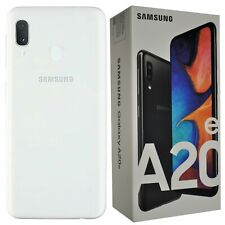 New Samsung Galaxy A20e SM-A202F/DS 32GB Dual-SIM White Factory Unlocked SIMFree