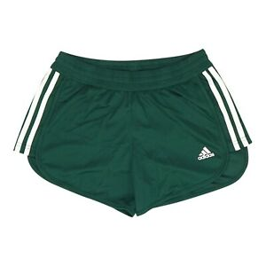 Adidas Women's Green Climalite Solid Knit Shorts