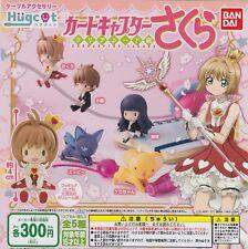 Cardcaptor Sakura: Clear Card Gashapon Hugcot Complete Set (5) Bandai Japanese