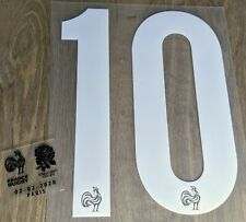Patch Flocage #10 Ntamack + Détails match France - Angleterre Equipe Rugby