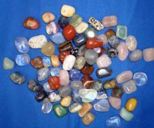 Multi Color Mixed Tumbled Stone Bulk Gemstone Specimen 1/4 lbs Reiki Chakra Art
