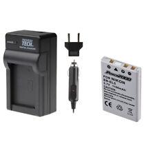 PT EN-EL5 Battery with Charger for Nikon Coolpix P300, P80 P90 P6000 P100, ENEL5