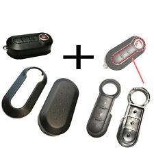 Für Fiat 500 Bravo Doblo Schlüssel Funkschlüssel Tastenfeld Gummi +  Gehäuse