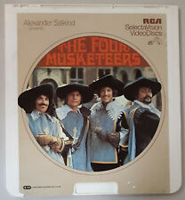 Four Musketeers Raquel Welch, Oliver Reed, York CED RCA Selectavision VideoDisc