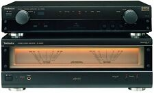 >> Technics SU-A909 EX-DISPLAY AUDIOPHILE PRE/POWER AMPLIFIER (Marked)