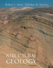 STRUCTURAL GEOLOGY By Eldridge M. Moores - 2nd Second ed Hardcover excellent