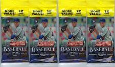 (4) 2019 Topps STADIUM CLUB Baseball MLB Trading Cards 12c FAT PACK LOT - FS