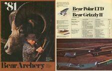 Bear 1981 Archery Catalog