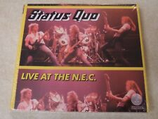 Status Quo 'Live at the N.E.C.' Deluxe Edition CD 2017 New Sealed NEC