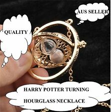 Harry Potter Time Turner Hermione Granger Rotating Spin Hourglass Necklace73