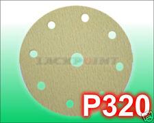 100pcs Discos de lijado 150mm 9l P320 ADHESIVO GP 1º =